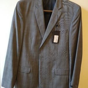 John Varvatos men's suit 42L untailored